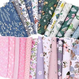 ASNOMY Meterware - Confezione di 31 pezzi per tessuto di cotone, 25 x 20 cm, per cucito, patchwork, tessuto e tessuti