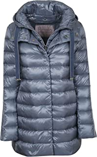 Herno Luxury Fashion Womens PI030DR120179011 Light Blue Down Jacket | Fall Winter 19