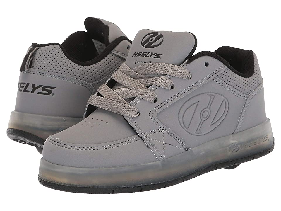Heelys Premium 1 Lo (Little Kid/Big Kid/Adult) (Grey) Boy