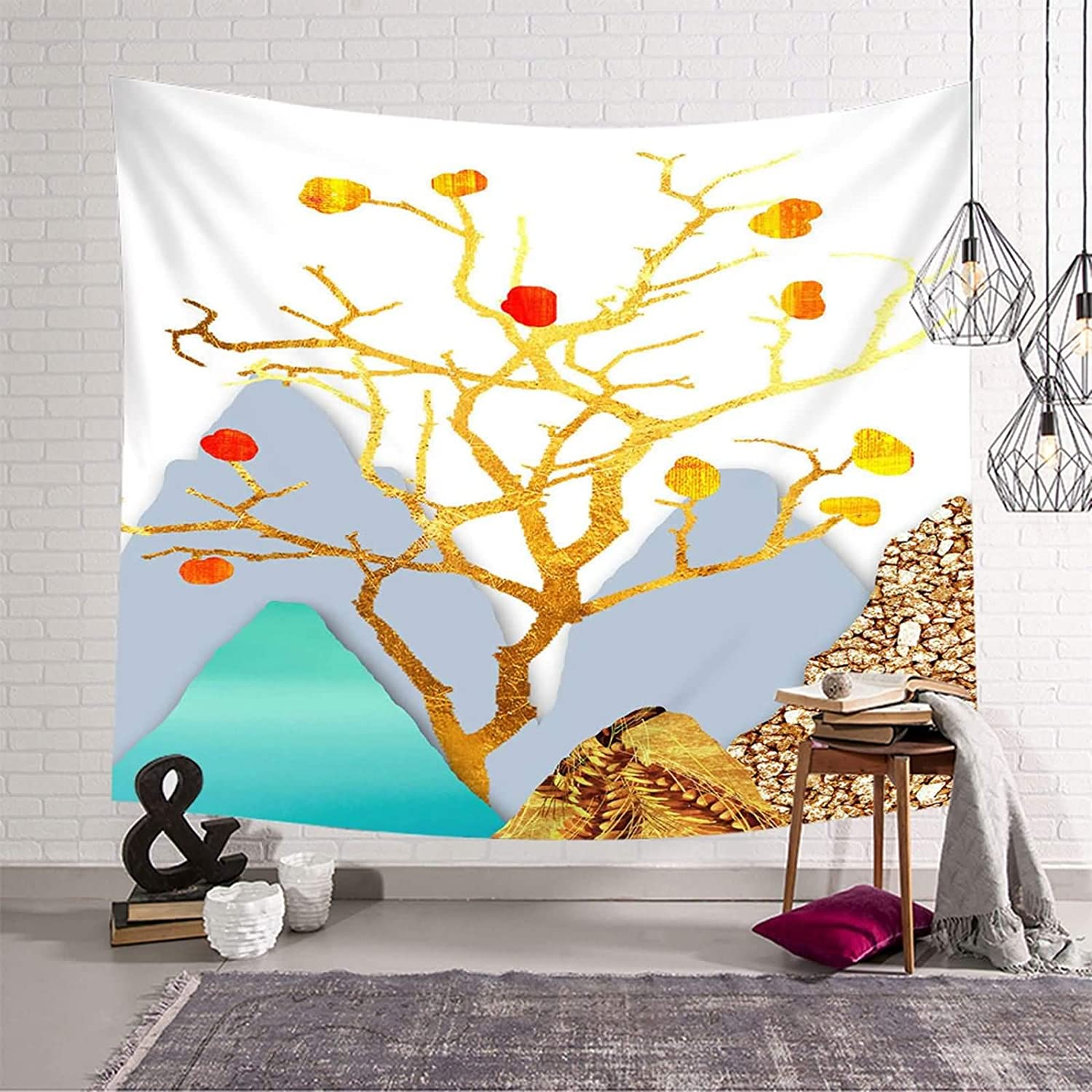 AMDXD Wall Hanging Decor Manufacturer OFFicial shop for Bedroom Max 54% OFF 350x256CM 100