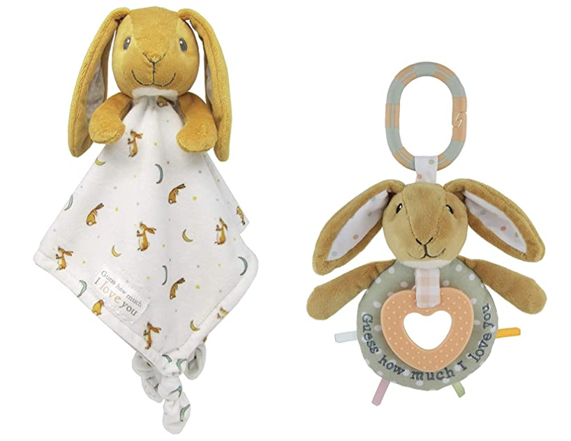 Guess How Much I Love You, Nut Brown Hare Snuggle Blanky and Teether Activity Toy