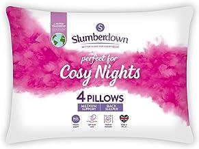 Slumberdown Cosy Nights kussen, wit, standaard, 4