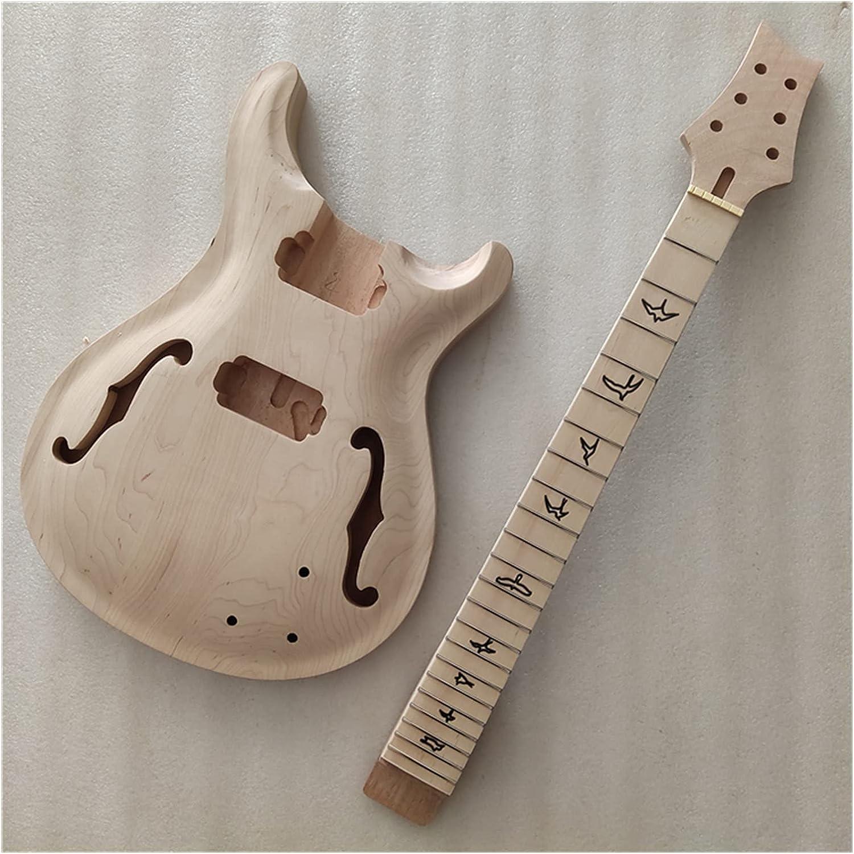 Cuerpo Guitarra 1 Ajuste El Cuello Y El Cuerpo De La Guitarra Sin Terminar para PRS Kit De Guitarra Eléctrica De Estilo Kits Guitarra Bricolaje