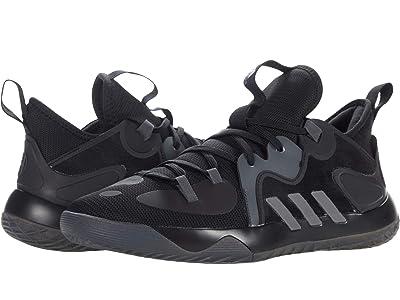 adidas Harden Stepback 2 (Black/Iron Metallic/Grey) Athletic Shoes