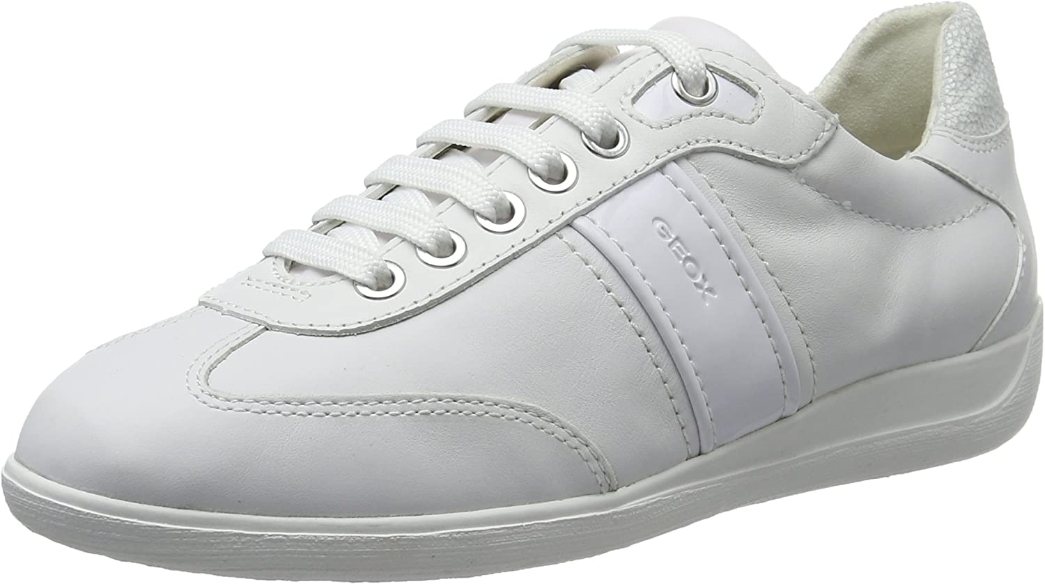 Geox D Myria A Womens Leather Sneakers shoes