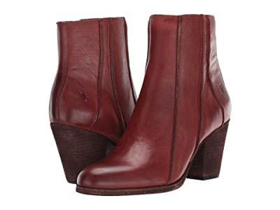 Frye Essa Seam Bootie (Rust Leather) Women