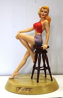 世界限定3000体 シリアルナンバー台座付き Varga Girl バーガ ガール ピンナップガール フィギュア