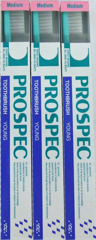 インスタントそばに懲らしめGC プロスペック 歯ブラシ ヤング M (NP) (3本セット)