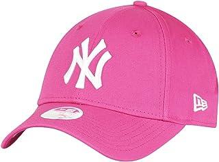 New Era Fashion Essential 940 New York Yankees Pink/Optic White Unisex Beyzbol Şapkası, Pembe (Pembe 6), Tek Ebat (Üretici...