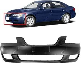 MBI AUTO - Primered, Front Bumper Cover Fascia for 2006 2007 2008 Hyundai Sonata Sedan 06 07 08, HY1000161