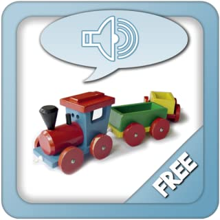 Kids first words in English - Sound touch flashcards for toddlers with pictures and voiceover