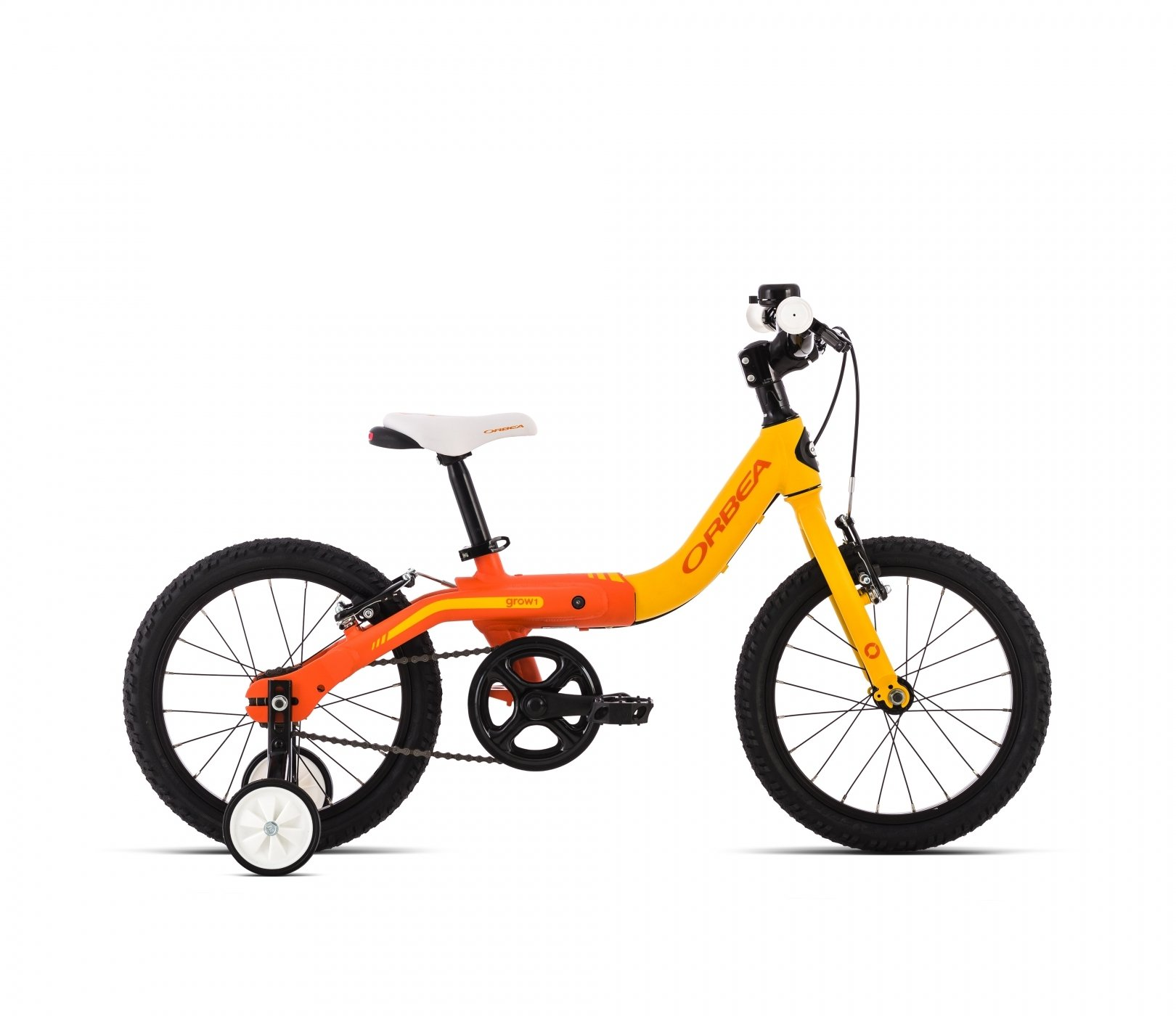 Bicicleta Infantil Orbea Grow 1, naranja: Amazon.es: Deportes y ...