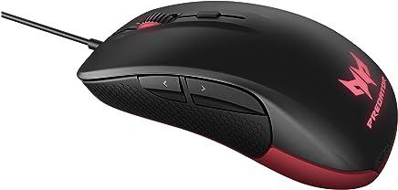 Mouse Gamer Predator by Steelseries - sensor óptico Pixart PMW3310, com DPI ajustável de 50 a 6500