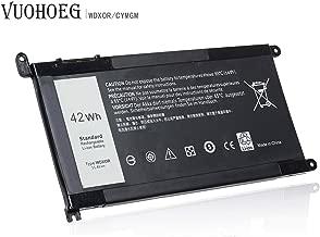WDXOR WDX0R New Laptop Battery for Dell Inspiron 13 5368 5378 5379 7368 7378; Inspiron 14-7460 15 5565 5567 5568 5578 7560 7570 7579 7569 P58F; Inspiron 17 5765 5767;P/N:FC92N 3CRH3 T2JX4 CYMGM
