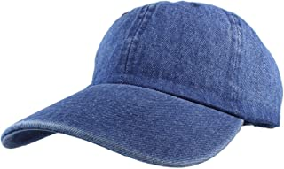 775914aed6068a Baseball Caps Jean Dad Hats Gelante Plain Denim Adjustable Wholesale lot  6-12pcs
