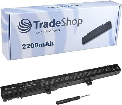 TradeShop Hochleistungs Li-Ion Akku  14 4V 14 8V 2200mAh f r Asus A551C A551CA D550C D550CA F451C F451CA F551C F551CA F551CM P451C P451CA P551C P551CA R411C R411CA R512C R512CA D450C D450CA