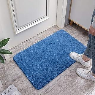 Large Bathroom Rug Extra Soft and Absorbent Shaggy Bathroom Mat Machine Washable Microfiber Bath Mat for Bathroom, Non Sli...