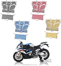 Motorcycle Aluminum Stainless Steel Radiator Guard Grill Cover Oil Cooler Bezel Protector Grille for BMW 2014-2017 S1000R 2010-2017 S1000RR 2015-2017 S1000XR 2012-2014 HP4 2011 2013 2014 2016 (Red)