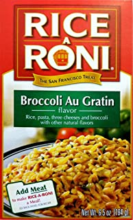 Rice-A-Roni BROCCOLI AU GRATIN Flavor 6.5oz (2 pack)