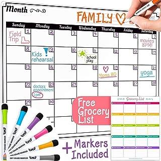 Best wipe board calendar Reviews