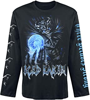 T Shirt 30Th Anniversary Band Logo Official Mens Black Long Sleeve