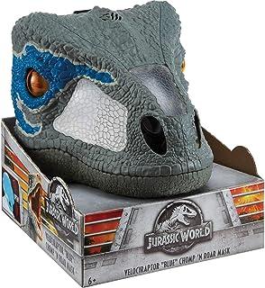 """Jurassic World Chomp 'n Roar Mask Velociraptor """"Blue"""""""