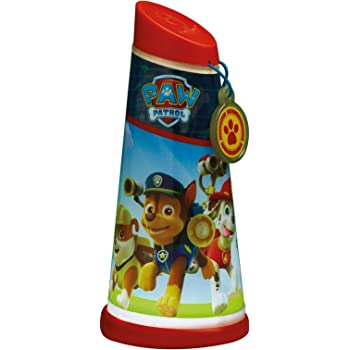 Paw Patrol 274PAW - Linterna giratoria, color azul: Amazon.es ...