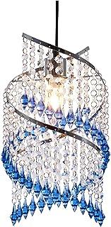 IINNOTECK - Lámpara de techo colgante (acero inoxidable)