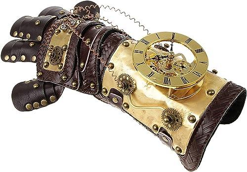 B Baosity Viktorianischen Punk Handschuhe Steampunk Gotischen Stil Armband Armschmuck Vintage Cosplay Zubeh - Farbe 2