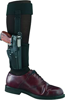 Gould & Goodrich B816-G27 Gold Line Ankle Holster Plus Garter (Black) Fits GLOCK 26, 27, 33, 39