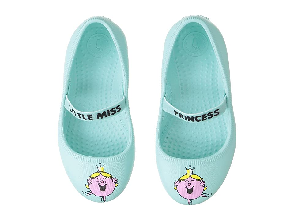 Native Kids Shoes Little Miss Sunshine Margot Print (Toddler/Little Kid) (Sherbert Blue) Girls Shoes