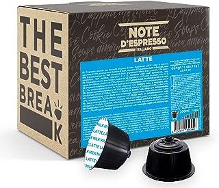 Note d'Espresso - Lait - Capsules Exclusivement Compatible avec les Machines NESCAFE* DOLCE GUSTO* - 48 caps