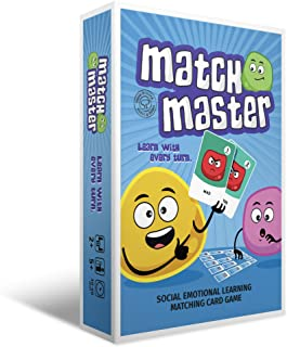 Games for Kids Ages 4-8 Therapy Games Social Emotional Learning Games Match Master | Identify Your Emotions | Improve Emot...