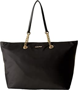 Large Chain Nylon Tote