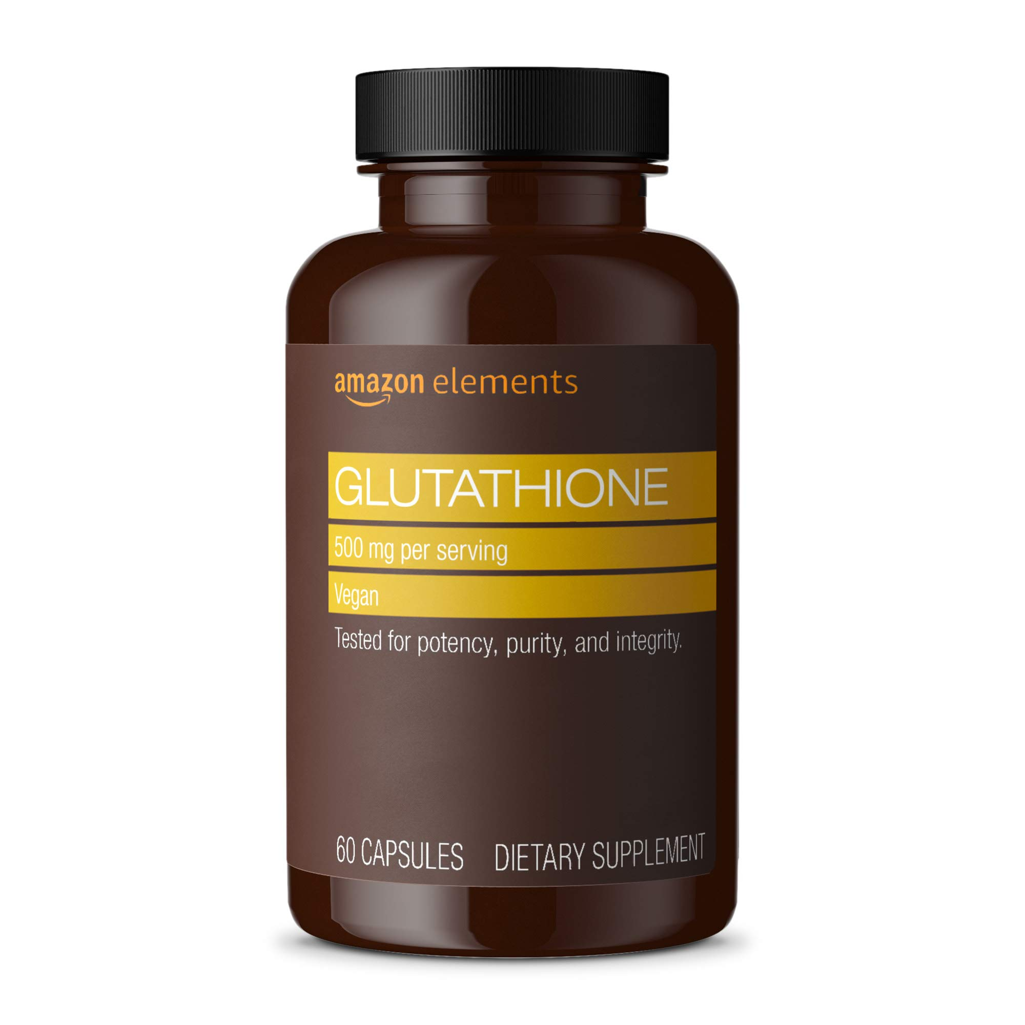 Amazon Elements Glutathione Capsules supply