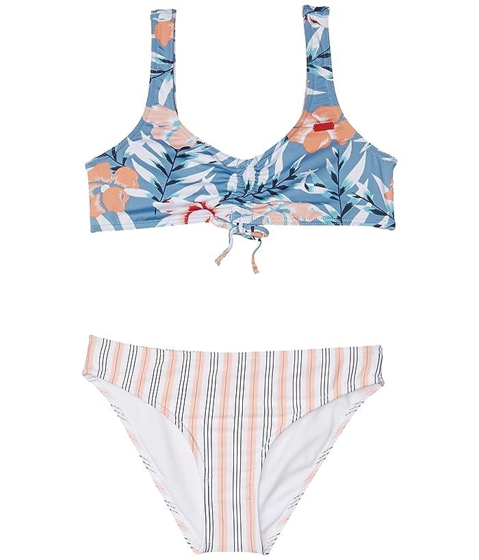 Roxy Girls Big Chasing Love Tankini Swim Set