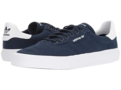 adidas Skateboarding 3MC (Collegiate Navy/Collegiate Navy/White) Men