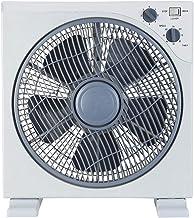 Ardes ar5b29White Ventilateur Floor Box, 3vitesses, rotation Grille 360° avec minuteur Pelle 30cm, blanc