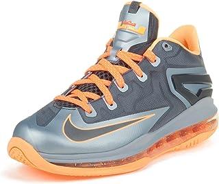 Nike Air Max Lebron XI Low (GS) Boys Basketball Shoes 644534-004 Black 6 M US
