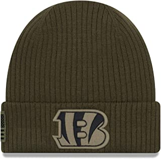 New Era Cincinnati Bengals 2018 NFL Sideline Salute to Service Knit Hat