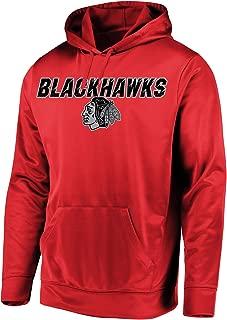 VF Majestic Chicago Blackhawks Men's High Energy Performance Fleece Pullover Hoodie