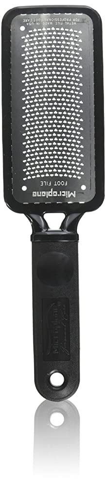 Microplane Colossal Pedicure Rasp, Black Foot File