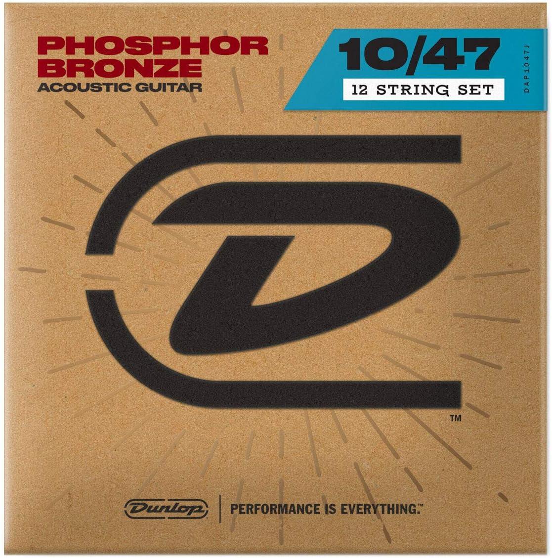 Dunlop DAP1047J Light Phosphor Bronze 0 Acoustic Challenge the Popular product lowest price Guitar Strings
