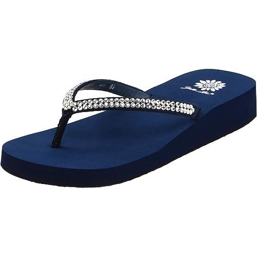 99a5c1e384b Navy Blue Flip Flops  Amazon.com