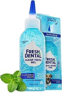 Naturel Promise Fresh Dental Teeth Clean Gel, 4 Fl Oz - Easy to Use Pet Dental Gel That Helps Remove Plaque, Tarter, and F...