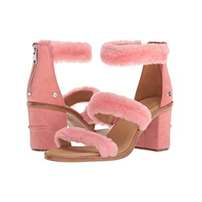 UGG Del Rey Fluff Heel (Lantana) High Heels