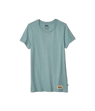 Fjallraven Vardag T-Shirt (Frost Green) Women