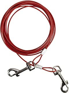 Dog Life Puppy Weight Tie-Out Cable - 15 Foot