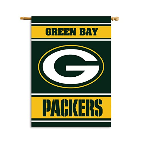 """Green Bay Packers 3 1//8/"""" GO Packers Pennant football"""