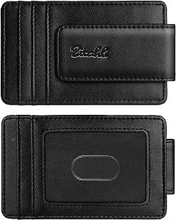 Money Clip Wallet For Men,Front Pocket Card Holder Slim Wallet With Strong Magnetic,RFID Blocking&Anti-magnetic